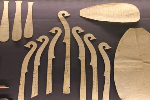 Stradivari s templates